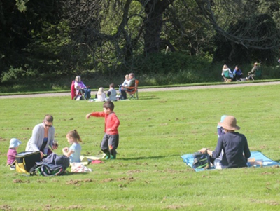 The Big Picnic at Leith Hall
