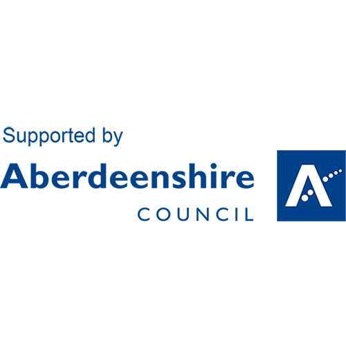 Supported by Aberdeenshire Council Logo